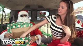 bangbros – a very bang bus christmas with mia monroe and santa claus – teen porn