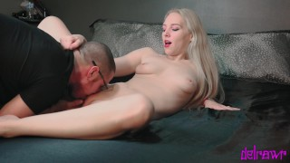 W creampie amateur doggystyle pussy blonde