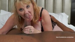 Huge BBC Fills Up Rachel Domino