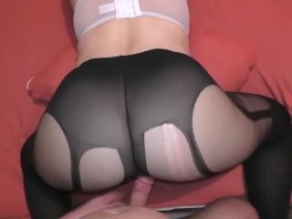 Pantyhose amazing ass...