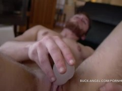 Buck Angel KISS X FTM Clitoral Stimulator LUKE HUDSON FTM Sucks his Pussy