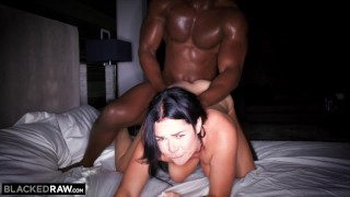 With head cheated girlfriend bbc red his blackedraw cock doggystyle