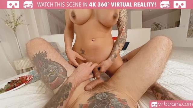 VRB Trans - Sexy tranny TS Foxxy gets fucked in her tight ass and Blowjob 49