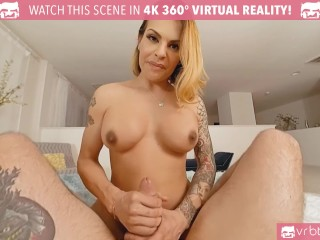 VRB Trans – Sexy tranny TS Foxxy gets fucked in her tight ass and Blowjob