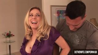 Housewife Angela Attison ass fucking