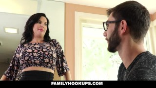 Hot how stepson fuck teaches to familyhookups milf shaved big