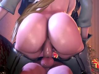 2B x Commander x 9S Threesome [exga]