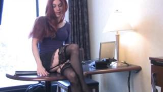 Hot shemale secretary