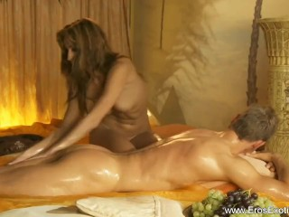 Incredibly relaxing turkish massage...