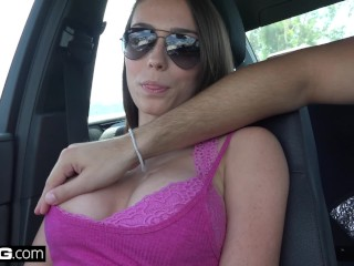 Preview 1 of Amateur Southern Teen Ashly Anderson fucked & takes creampie