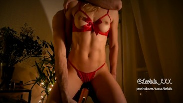 LEOLULU XMAS Part. 1 - Naughty Mrs Claus Teasing and Cuming for You!