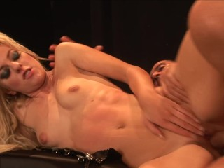 Petite Blonde ANGELA STONE Wraps Her Tight Teen Pussy Around Huge Cock