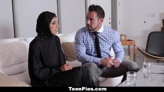 Teen creampied gets teenpies muslim cumshot cum