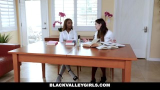 BlackValleyGirls - Hot Ebony Teen Fucks Best Friends Dad Big big