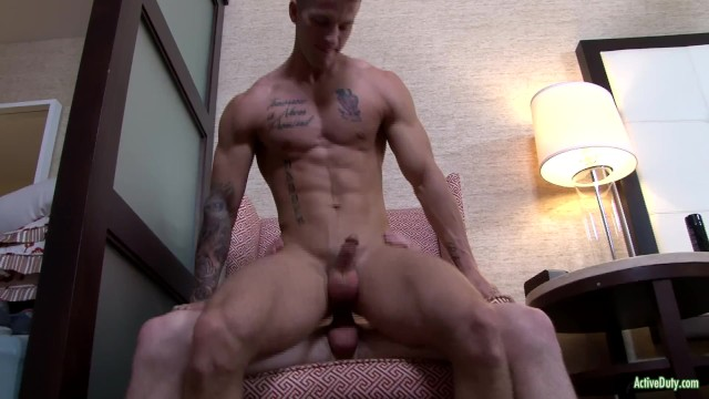 Dell gay porn Activeduty quentin gainz fucks raw with cute army