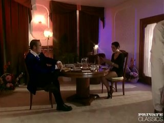 Andrea, DP Threesome with the Servant and