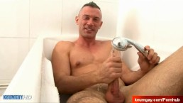 Lorenzo handsome innocent delivery guy in a gay porn.