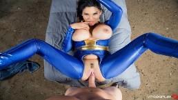 VRCosplayX.com Rondborstige Latina Missy Martinez neukt je in Fallout XXX Parodie