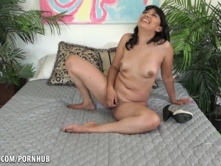 Introducing Nenetl Avril and her hairy pussy