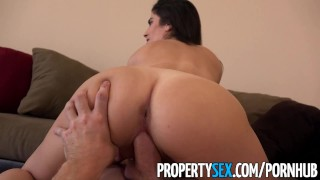 Landlord evasive over propertysex tenant fucks reality propertysex