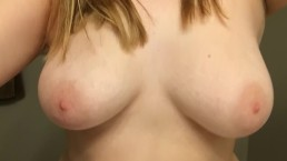 My D cup tits bouncing in slow mo