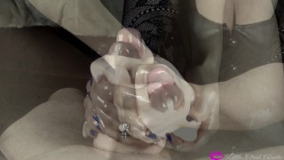 THE TOY - Cumming Inside Extremely Tight Pornhub Stroker 60FPS