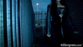 Killergram Ely Pink is a prostitute who fucks big cock punter to big facial
