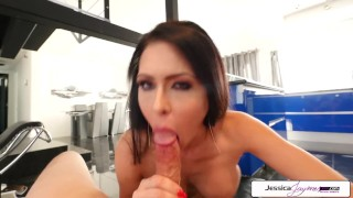 Jessica Jaymes Sucking a Big Dick in POV Big Booty
