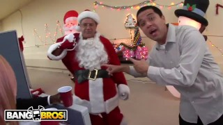 BANGBROS Fuck Team Five Holiday Christmas Party Turns Into Orgy