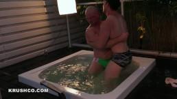 Jocks Wrestling Outdoors   ROOF DECK RUMBLE   Krush vs Stan