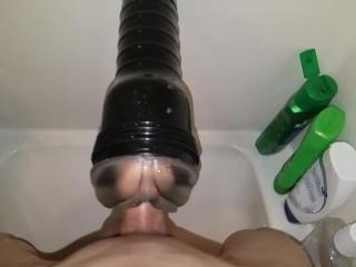 Shower Fleshlight Quicky + Slow Mo