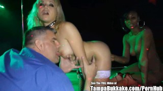 Jasmine Christmas Stripper Gangbang Bukkake