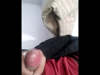 Indian boy cumshot fucking the aunty handjob
