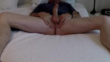 stroking my cock in bed bonus