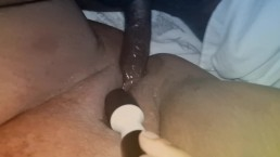 Squirting on his Big Black Dick