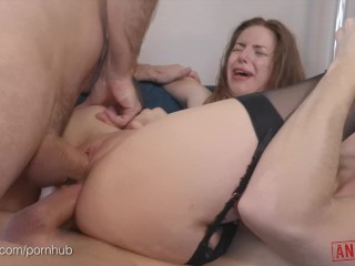Sexy Ravishing Ginger Bitch Gives Head