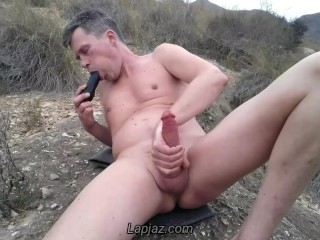 Anal orgasm in the desert - Lapjaz.com