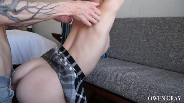 Amateur sex tape with Arya Fae and Owen Gray 11