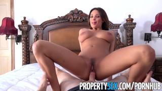 Hot french homeowner fucks teacher propertysex kate boobs