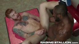 Bennett Anthony Bends Over for Big Black Cock
