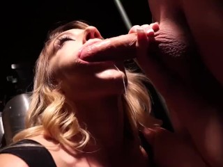 Cali Carter loves sucking major loads