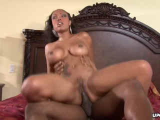 Pierced blonde Milf is a slut for the young cock