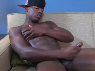 Thrillz Thriller Strokes His Dick