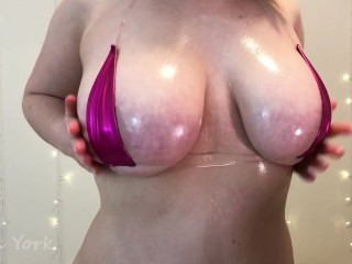 Oiled Up Mini Bikini