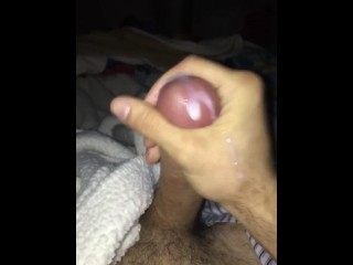 Big Italian Cock with a huge load