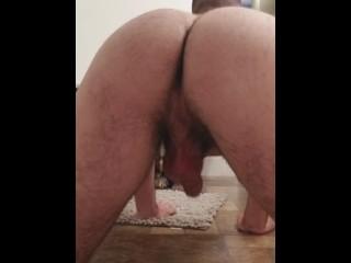 Twerking in the bathroom