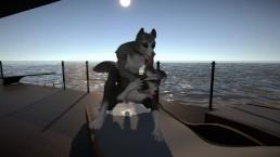 Yiffaclious- Horny wolf wants finn badly. Animated by: Marolito