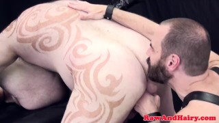 Threeway superchub rimmed while cocksucking