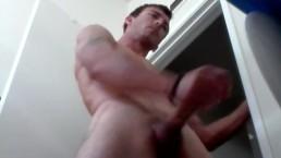 Cumming in the toilet