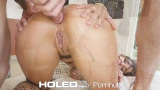 HOLED Round booty Abella Danger gets ass toyed and fucked